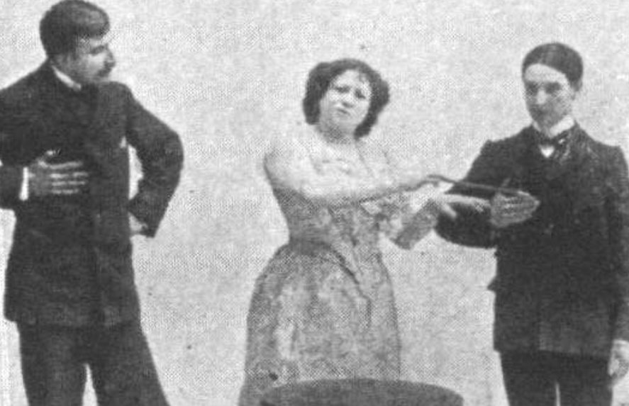 Women in Magic, 115 years ago
